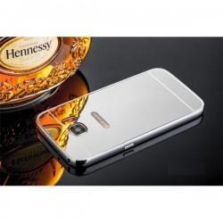 "Etui ""Alu"" za Samsung Galaxy S7 Edge, Srebrna barva"