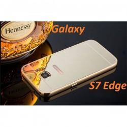 """Etui """"Alu"""" za Samsung Galaxy S7 Edge, Zlata barva"""