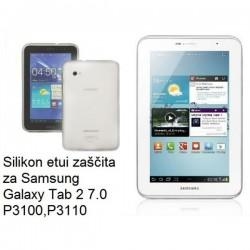Silikonski etui za Samsung Galaxy Tab 2 7.0, transparent