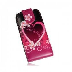 """Preklopna torbica """"Srce"""" za Samsung Galaxy S2"""
