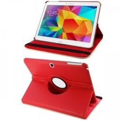 Torbica za Samsung Galaxy TAB 4 10.1 Vrtljiva 360+Folija ekrana , Rdeča barva