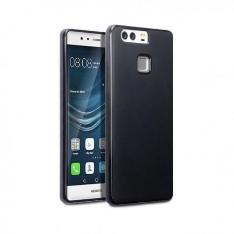 Silikon etui za Huawei P9, 0,5mm, Črna barva