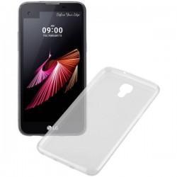 Silikonski etui za LG X Screen, debeline 0,3mm, Prozorna barva
