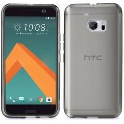 Silikon etui za HTC 10, 0,3mm, prozorno temna