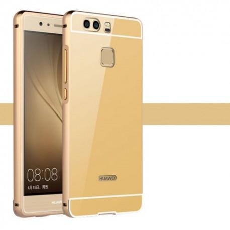 "Etui ""Alu"" za Huawei P9, Zlata barva"