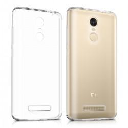 Silikonski etui 0,3mm za Xiaomi Redmi Note 3, Prozoren+ Zaščitno steklo
