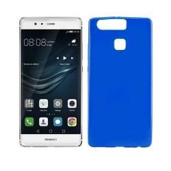 Silikon etui za Huawei P9, 0,5mm, modra barva