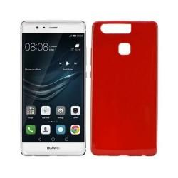 Silikon etui za Huawei P9, 0,5mm, rdeča barva