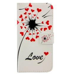 "Preklopna Torbica ""Love"" za Huawei P9 Lite"