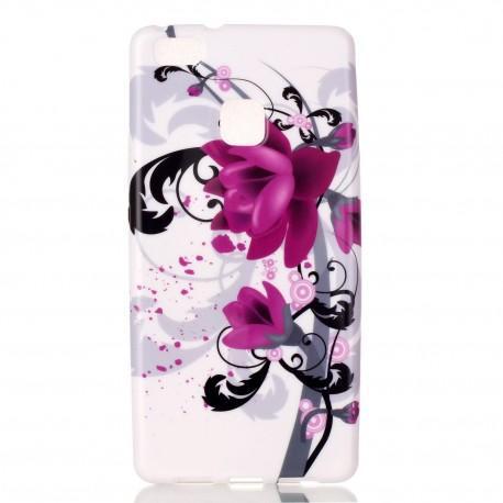 "Silikonski etui ""Purple Rose"" za Huawei P9 Lite"