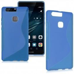 Silikon etui S za Huawei P9, Modra barva