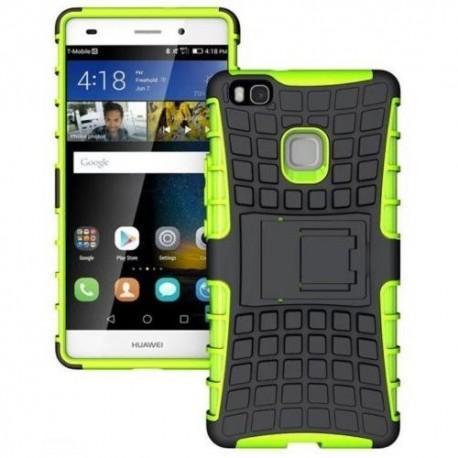 """Etui """"Dual Armor"""" za Huawei P9 Lite, zelena barva"""