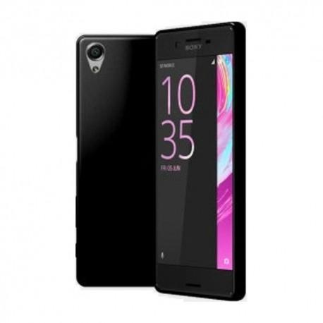 Silikon etui za Sony Xperia X, 0,5mm, Črna barva