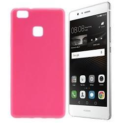 Silikon etui za Huawei P9 Lite, 0,5mm, pink barva