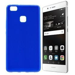 Silikon etui za Huawei P9 Lite, 0,5mm, modra barva