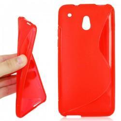 Silikon etui S za HTC 10, rdeča barva