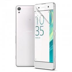 Silikonski etui 0,3mm za Sony Xperia XA+ folija zaslona, prozoren