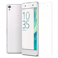 Silikonski etui 0,3mm za Sony Xperia XA, prozoren+ Zaščitno steklo