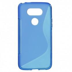 Silikonski etui S za LG G5, Modra barva