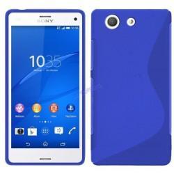 Silikon etui S za Sony Xperia M5, Modra barva
