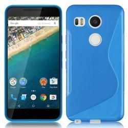Silikon etui S za LG Nexus 5X, Modra barva