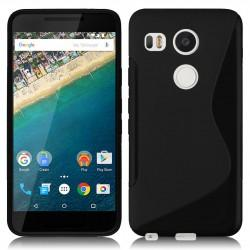 Silikon etui S za LG Nexus 5X, Črna barva