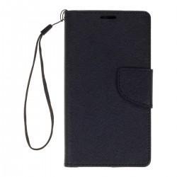 """Preklopna Torbica """"Fancy"""" za LG Nexus 5X, Črna barva"""
