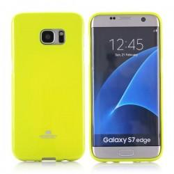 "Silikonski etui ""Goospery"" za Samsung Galaxy S7 Edge, Zelena barva"