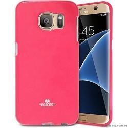"Silikonski etui ""Goospery"" za Samsung Galaxy S7 Edge, Pink barva"