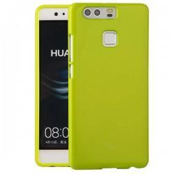 """Silikonski etui """"Jelly"""" za Huawei P9, Zelena barva"""
