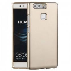 """Silikonski etui """"Jelly"""" za Huawei P9, Zlata barva"""
