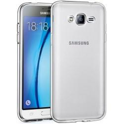 Silikonski etui za Samsung Galaxy J3 (2016), 0,3mm, prozorna