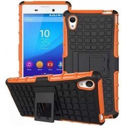 Etui Dual Armor za Sony Xperia M4 Aqua, oranžna barva
