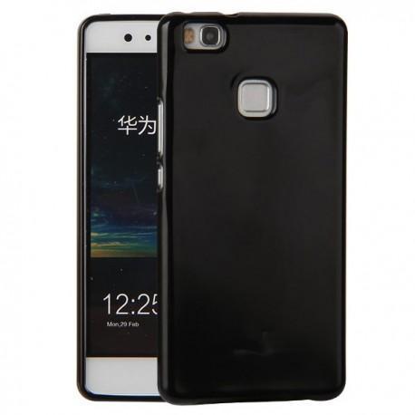 "Silikonski etui ""Jelly"" za Huawei P9 Lite, Črna barva"