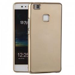 """Silikonski etui """"Jelly"""" za Huawei P9 Lite, Zlata barva"""