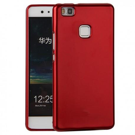 "Silikonski etui ""Jelly"" za Huawei P9 Lite, Rdeča barva"
