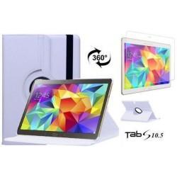 Torbica za Samsung Galaxy TAB S 10.5 Vrtljiva 360+Folija ekrana Bela barva