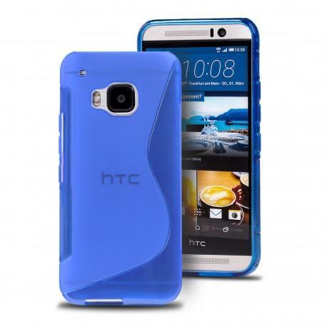 Silikon etui S za HTC 10, modra barva