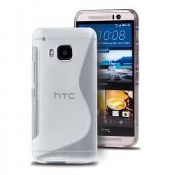 Silikon etui S za HTC 10, transparent barva