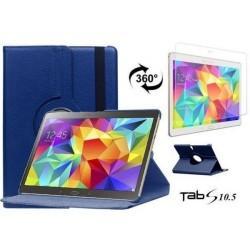 Torbica za Samsung Galaxy TAB S 10.5 Vrtljiva 360+Folija ekrana Modra barva