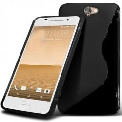Silikon etui S za HTC One A9, Črna barva