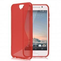 Silikon etui S za HTC One A9, Rdeča barva