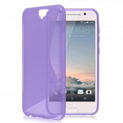 Silikon etui S za HTC One A9, Vijolična barva