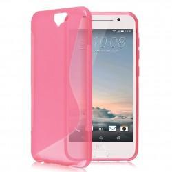 Silikon etui S za HTC One A9, Pink barva