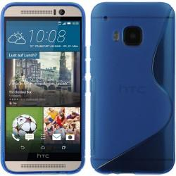 Silikon etui S za HTC One M9, Modra barva