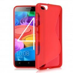 Silikon etui S za Huawei Honor 4X, Rdeča barva