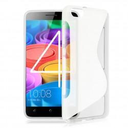 Silikon etui S za Huawei Honor 4X, Transparent barva