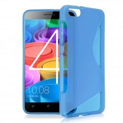 Silikon etui S za Huawei Honor 4X, Modra barva