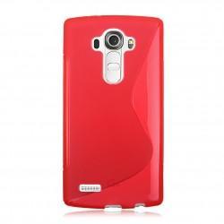 Silikonski etui S za LG G4, Rdeča barva