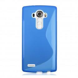 Silikonski etui S za LG G4, Modra barva